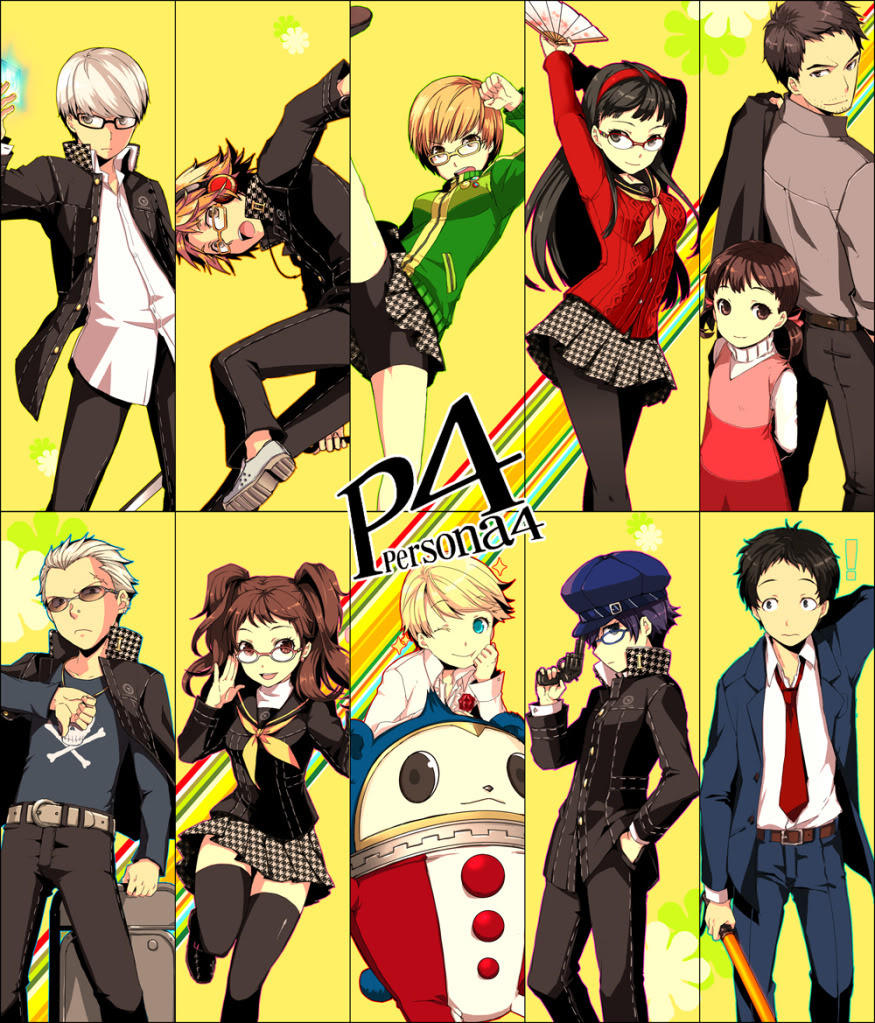 persona 4 the animethe animation images i just put the