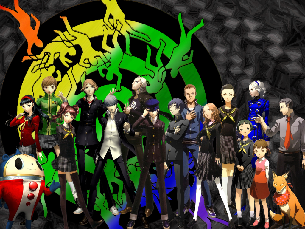 I Just Put The Wallpaper I Have P Persona 4 The Animethe
