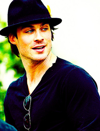 Ian Somerhalder wallpaper possibly with a fedora and a boater entitled Ian Somerhalder