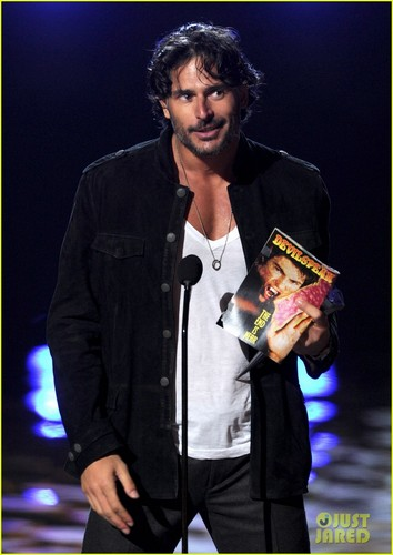 Joe Manganiello: Scream Awards with Pee-Wee Herman!