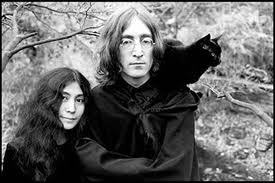 John yoko and one of their cats