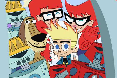 Johnny Test 壁纸 containing 日本动漫 called Johnny, Susan, Mary and Dukey