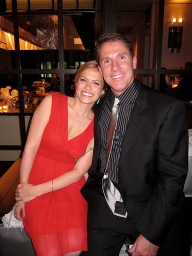 Joy and Nicholas Sparks at the 15th Anniversary of The Notebook Party