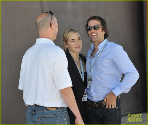 Kate Winslet: Spaceport Launch With Ned Rocknroll!