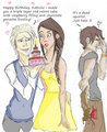 Katniss, Gale, and Peeta-Cartoons