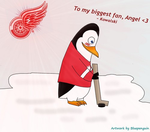 Kowalski the Red Wings Player