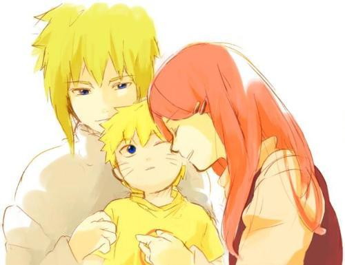 Kushina with family