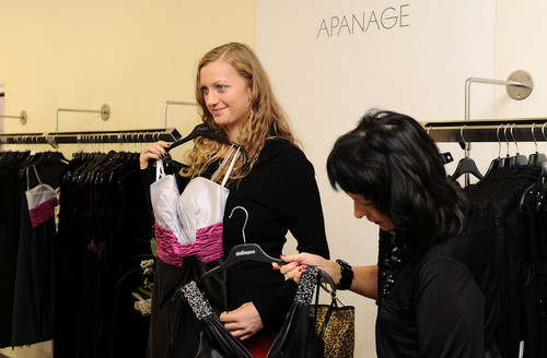 Kvitova selection of dresses