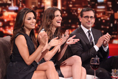 Eva Longoria, Lake campana, bell & Steve Carell on Rove Live - October 18, 2011