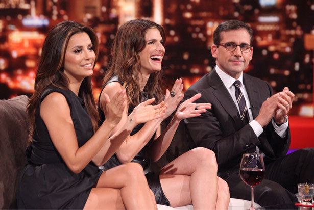 Eva Longoria, Lake bel, bell & Steve Carell on Rove Live - October 18, 2011