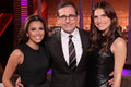 Eva Longoria, Steve Carell & Lake Bell on Rove Live - October 18, 2011