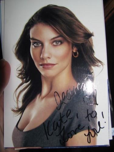 Lauren's Autograph