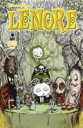 Lenore the cute little dead girl issue 12 - Ragamuffin is a vampire again