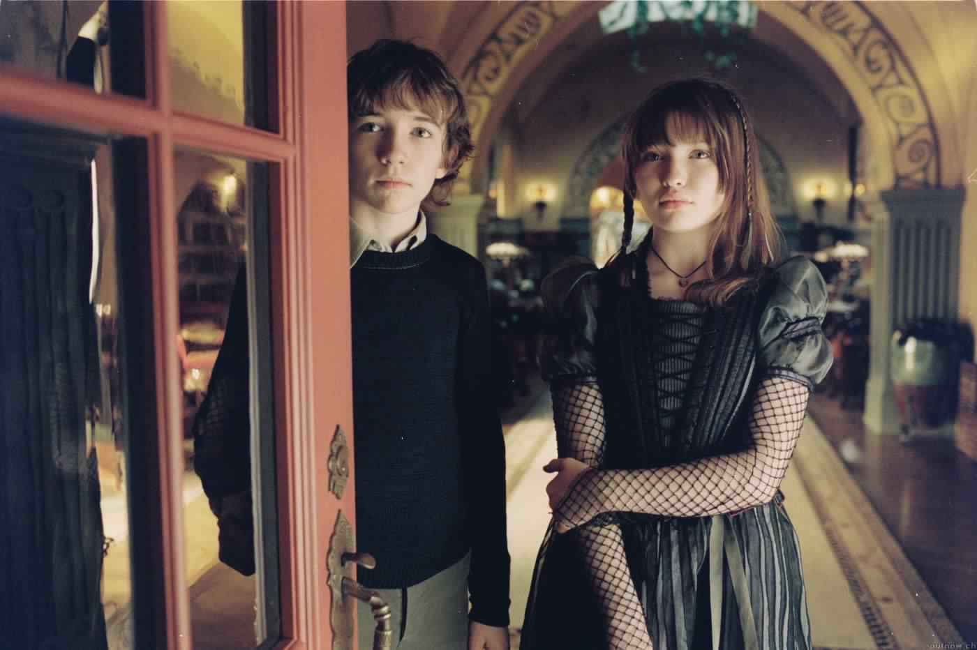 Liam Aiken And Emily Browning Liam Aiken And Emily