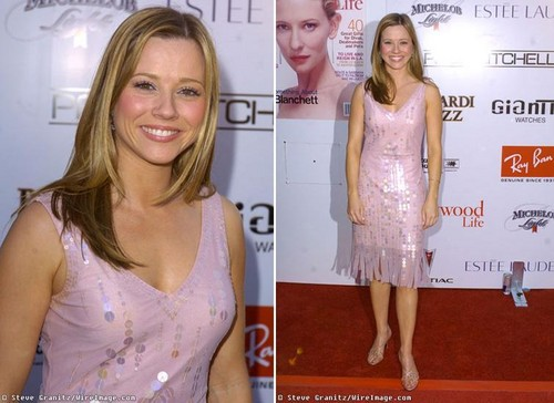 Linda Cardellini in rose And Sparkly