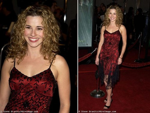 Linda Cardellini in Carpet Matching Dress