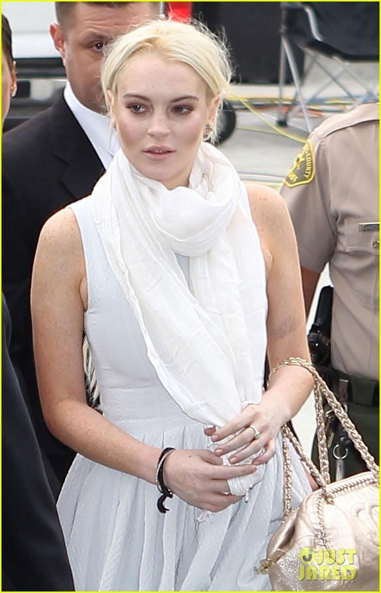 Lindsay Lohan: Probation Revoked by Judge
