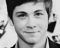 Logan Lerman Blue Eyes