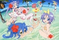 Lucky Girls By The Beach! - lucky-star photo