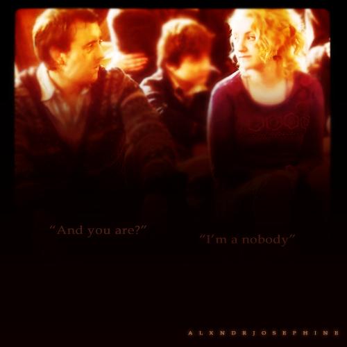 Luna & Neville <3