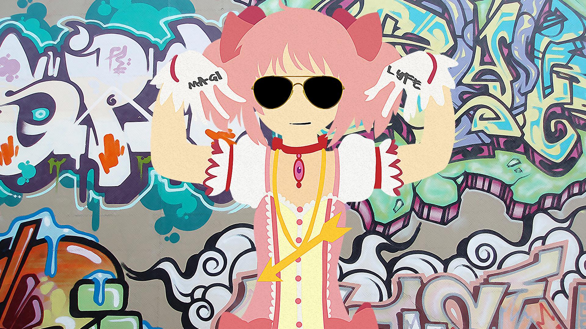 madoka wallpaper puella magi madoka magica photo