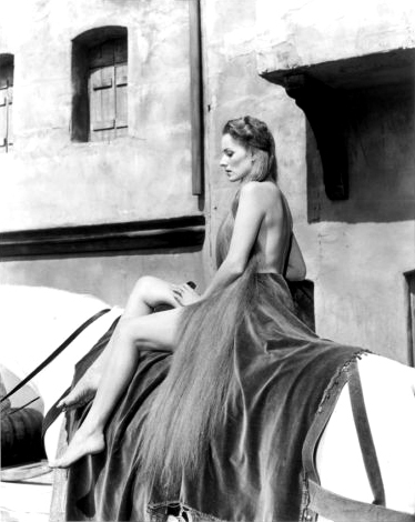 "Maureen as ""Lady Godiva"""