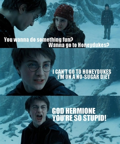 Mean Girls - Harry Potter