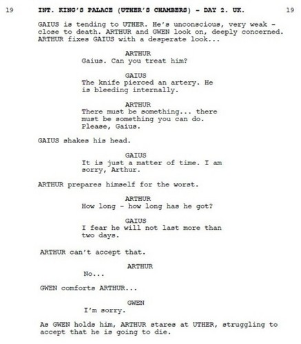 Merlin 4.03 Deleted Scene Three - A/G