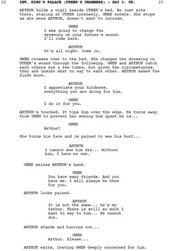 Merlin 4.03 Deleted Scenes Four - A/G