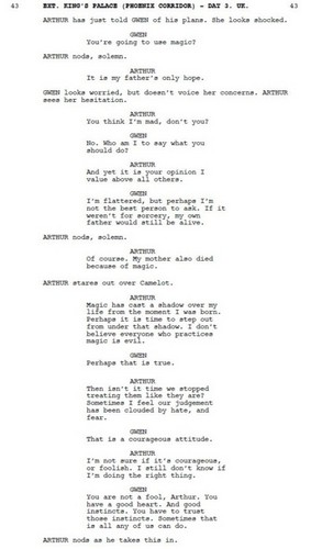 Merlin 4.03 Deleted Scenes - Six - A/G