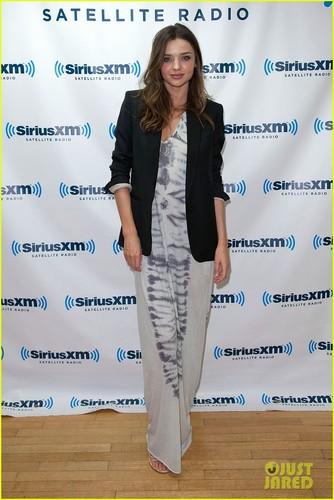 Miranda Kerr: Sirius Studio Stop (October 19)
