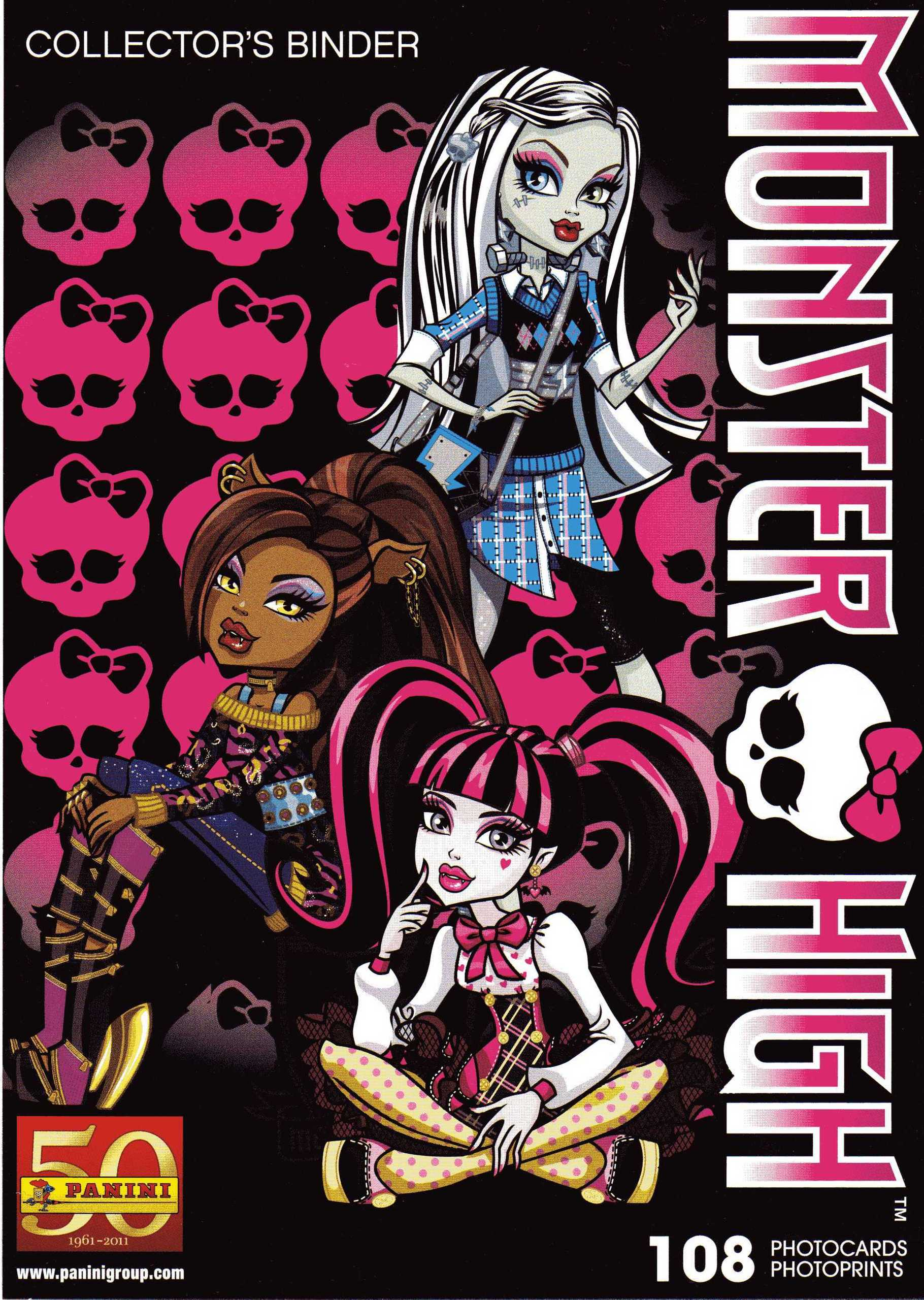 Monster High Photocards Album - monster-high photo
