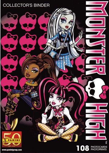 Monster High Photocards Album