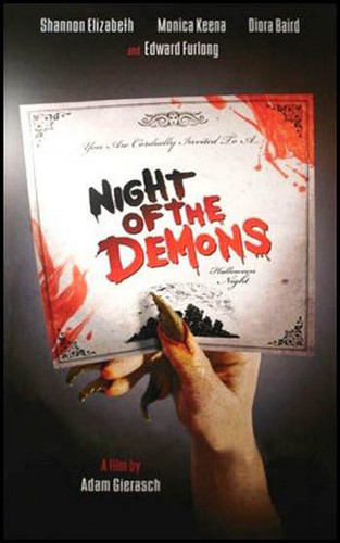 phim chiếu rạp that took place around Halloween: Night of the Demons
