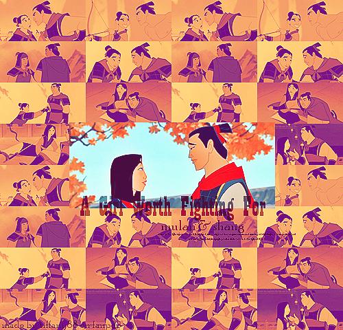 Mulan & Shang ~ ♥