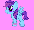 My Filly OC Rainbow Heart
