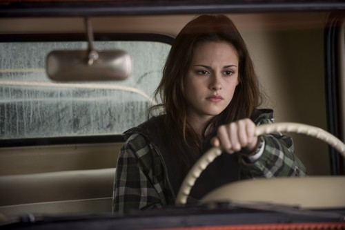 Bella Swan wallpaper possibly containing an automobile and a vacuum entitled NEW Moon HQ stills