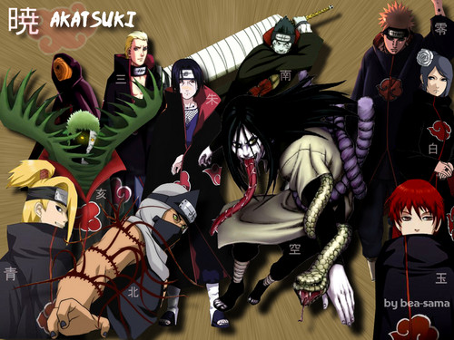 Akatsuki wallpaper called Naruto Shippuden Akatsuki