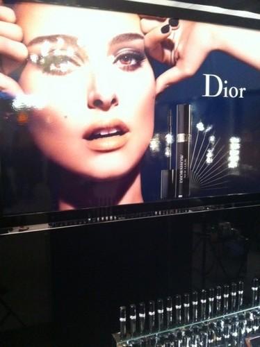 Natalie POrtman for Dior Mascara