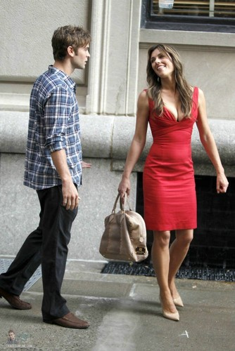 Nate - Gossip Girl - Behind the Scenes, Upper East Side - July 13, 2011 - nate-archibald Photo