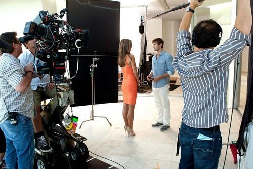 Nate - Gossip Girl, Episode Stills - Season Five, Los Angeles Behind the Scenes