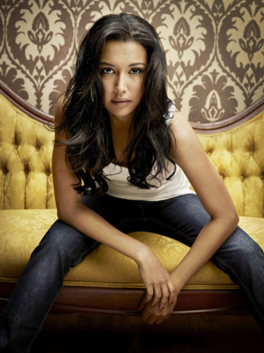 Glee wallpaper containing a drawing room, a living room, and a throne titled Naya RIvera