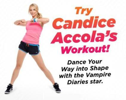 New advertisement from Candice's Seventeen Fitness photoshoot ♥