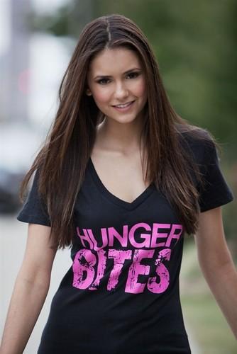 Nina Dobrev - HUNGER BITES