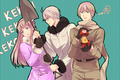 Nyotalia- Fem!  Russia, Male! Belarus and Male! Ukraine - hetalia-couples photo