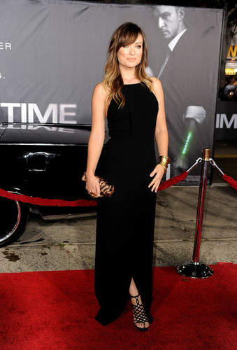 Olivia Wilde @ the Premiere of 'In Time'