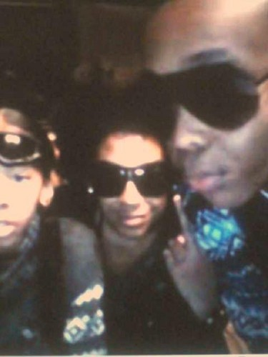 Princeton (Mindless Behavior) wallpaper probably with sunglasses called Ooooh Princeton... I'm Tellin XD
