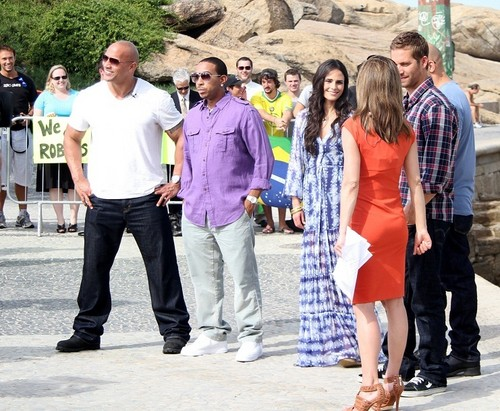 Paul  - Fast Five Cast in Arpoador, RJ (Interview with MSNBC Today Show), Apr 13, 2011 - paul-walker Photo