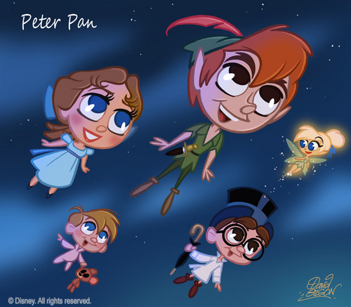 Peter Pan & Co. chibi