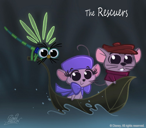 Rescuers down Under 2 CHIBI